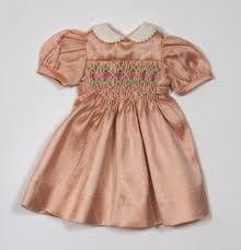 silk smock dress boneka doll fashions