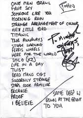 Smashing Pumpkins Acoustic Tour Setlist by Setlist Fm Blog 2008