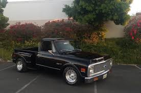 1971 Chevy Truck Pickup Short Bed Step Side Black California Classic ... 1971 Chevrolet C10 Offered For Sale By Gateway Classic Cars 2184292 Hemmings Motor News 4x4 Pickup Gm Trucks 707172 Cheyenne Long Bed Sale 3920 Dyler Sold Utility Rhd Auctions Lot 18 Shannons Classiccarscom Cc1149916 4333 2169119 For Chevy Truck Page 3 Truestreetcarscom Truck