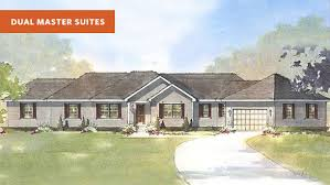 beverly ii dual master suite house plan schumacher homes