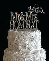 Name Wedding Cake Toppers Rustic Nz