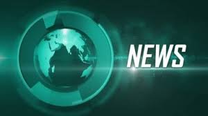The 3D Globe News Background Green Rendered Loop Animated With