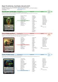 Mtg Evasive Maneuvers Deck List by Commander Deck Lists Radnor Decoration