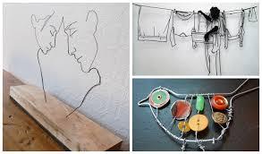 Back Simple Wire Art Ideas