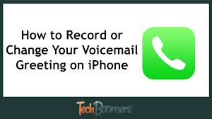 How to Record or Change Your Voicemail Greeting on iPhone