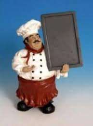 I Have Collected Fat Chefs And Use Them To Accent In My Kitchen Real Life Not Healthy But Its Been Fun Collect These