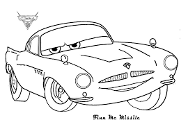 Mcqueen Coloring Pages Lightning Printable