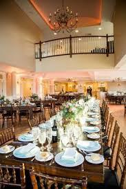 Rock Island Lake Club Ballroom Farm Tables Centerpiece Inspiration Rustic Wedding Photography