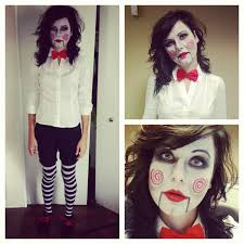 Scary Characters For Halloween by Jigsaw Saw Movie Costume Everything Halloween Pinterest
