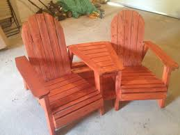 Pallet Adirondack Chair Plans by Ana White Adirondack Chairs With Table Diy Projects