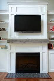 How Install A Barn Beam Mantel — Decor And The Dog Hand Hune Barn Beam Mantel Funk Junk Relieving Rustic Fireplace Also Made From A Hewn Champaign Il Pure Barn Beam Fireplace Mantel Mantels Wood Lakeside Cabinets And Woodworking Custom Mantle Reclaimed Hand Hewn Beams Reclaimed Real Antique Demstration Day Using Barnwood Beams Img_1507 2 My Ideal Home Pinterest Door Patina Farm Update Stone Mantels Velvet Linen
