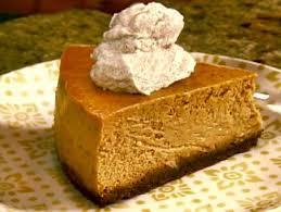 Pumpkin Cake Paula Deen by Gina U0027s Pumpkin Cheesecake Recipe The Neelys Food Network