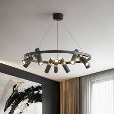 industriellen stil anhänger len wohnzimmer beleuchtung