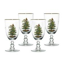 Spode Christmas Tree Highball Glasses by Buy Glass Christmas Trees From Bed Bath U0026 Beyond