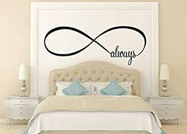 ceciliapater wandtattoo always infinity symbol schlafzimmer