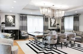 Two Diamond Dust Paintings Of Marilyn Monroe Bring True Hollywood Glam To The Art Deco Dining Room Harbury Country House Unleashes Design Laced