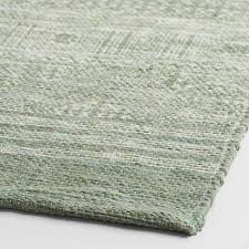 Green Jute Rug by 5 U0027x8 U0027 Blue Gray Bleach Out Flatweave Sadie Area Rug World Market