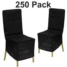 Ultimate Textile Spandex Banquet Chair Covers Black Chair ...