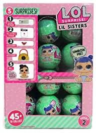 LOL Surprise Lil Outrageous Littles Sisters Series 2 WAVE Lets Be Friends Mystery Pack