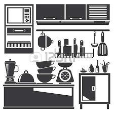 4057 Kitchen Cleaning Stock Vector Illustration And Royalty Free