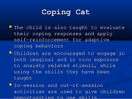 coping cat childhood anxiety disorders