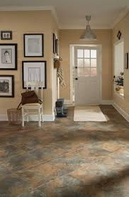 stainmaster皰 12 in x 24 in groutable harbor slate brown peel and