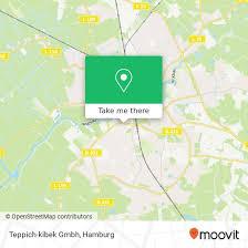 how to get to teppich kibek gmbh in schleswig holstein by