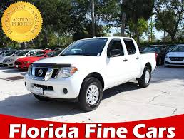 Used 2016 NISSAN FRONTIER Sv 4x4 Truck For Sale In WEST PALM, FL ...