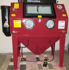 Bead Blast Cabinet Vacuum by Sandblasting Cabinet Bb 1050xld Fl Badboy Blasters