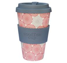 Redber Coffee Ecoffee Cup Reusable Bamboo Travel 04l 14 Oz