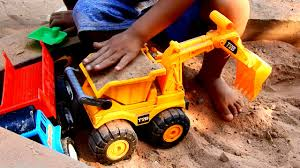 100 Police Truck Tab My Kids Playing Toys Excavator Very Happy Car Dump And