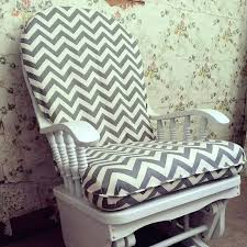 Glider Rocking Chair Cushions For Nursery by Glider And Ottoman Slipcovers Dutailier Glider Cushions Uk Nursery
