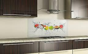 spritzschutz küchenrückwand fliesenspiegel glas nach maß