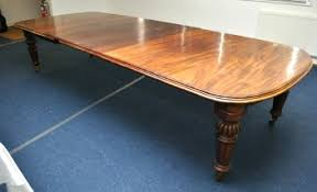 Large Victorian Mahogany Dining Table SOLD GBP3200