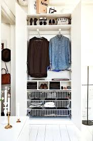 ClosetsShallow Coat Closet Solutions Small Geometric Structure Hung From Ceiling For Clothing Storage Shallow