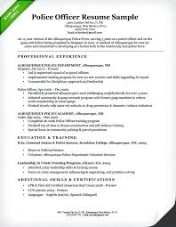 Police Officer Resume Example Blotter Format Philippines