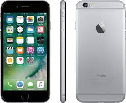 AT&T Prepaid Apple iPhone 6 4G LTE with 32GB Memory Prepaid Cell