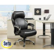 serta big and tall smart layers executive office chair with air