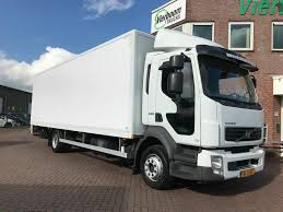 100 240 Truck VOLVO FL BKAKWAGEN MET LAADKLEP EURO5 11990KG HOLLAND TRUCK