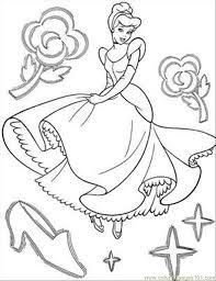 Cinderella Coloring Page 14 Download