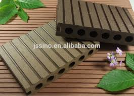 14025mm Wpc Exterior Wood Plastic Composite Deckingflooring