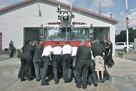 Seabrook Fire Department Unveils 9/11 Steel,