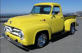 1955 Ford F100 Close To What I Had For My First Vehicle. | Love For ...