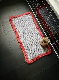 badezimmer teppich aus textilgarn