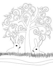 Adult Colouring Pages Easter 03