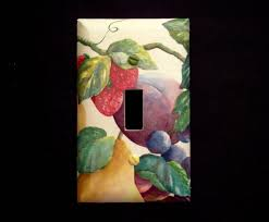 fruit light switch plate covers single light switch plate cover