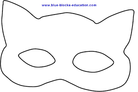cat eye template pete the cat best photos of mask template