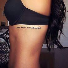 Rib Tattoo Writing