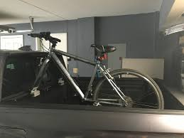 Carrying Bikes | Best Approaches For Gen II - Honda Ridgeline Owners ... Thule Toyota Tacoma 62018 Thruride Truck Bed Mount Bike Rack Tonneau Covers Arm For Bikes Inno Velo Gripper Storeyourboardcom Review Of The Bedrider On A 2002 Retraxone Mx Retractable Cover Trrac Sr Ladder Racks Ideas Patrol Bicycle Rider Pickup Lovely Trucks Mini Japan Proride Amazoncom Xsporter Pro Multiheight Alinum Rei Hitch Also As Well