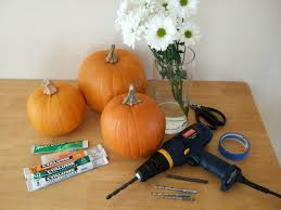 Drilled Jack O Lantern Patterns by Pumpkins Carved With A Drill Crafty Nest